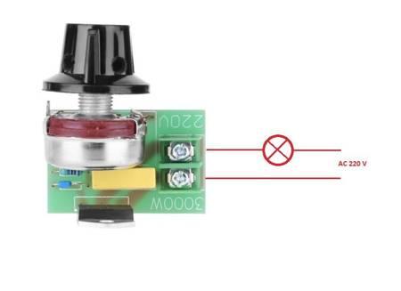 Moduł - regulator MOCY AC do 3000W - maksymalnie 3kW