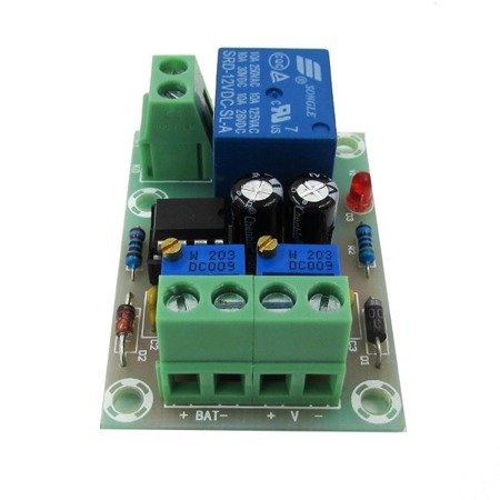 Moduł sterowania ładowarką XH-M601 do akumulatorów 12V