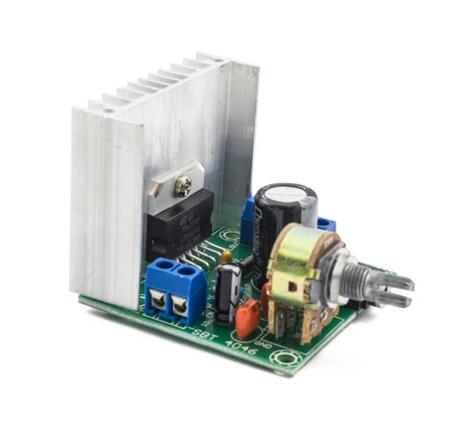 Moduł wzmacniacz mocy audio TDA7297 - 2x15W 10-50W - 12V AC/DC