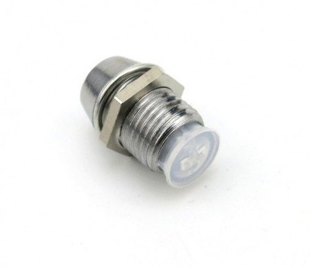 Oprawki diod LED 5mm - gniazdo metalowe wkręcane - gwint M7