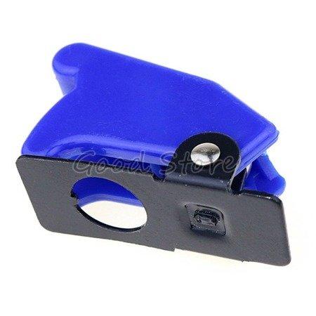 Osłona przełącznika dźwigniowego - SAC-01 Blue  - zabezpieczająca blokada
