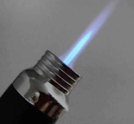 Palnik gazowy zapalniczka - XS-902 - napełniana butla - z podstawką