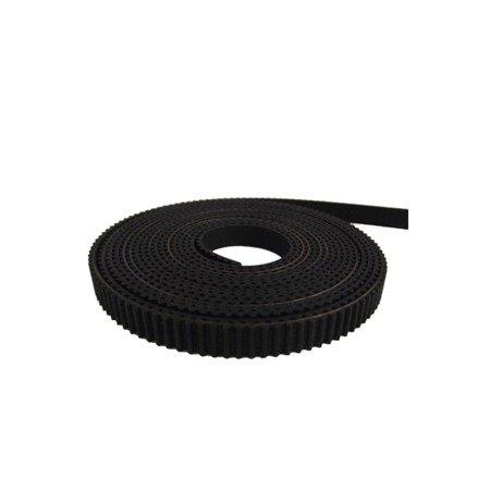 Pasek GT2 Black - 100cm - szerokość 6mm -  RepRap 3D CNC