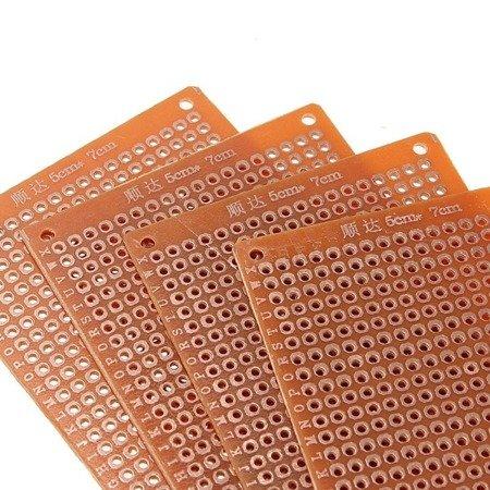 Płytka uniwersalna 50x70mm - PI01 - PCB budowa prototypów