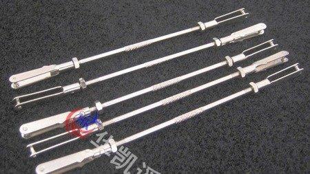 Popychacz prosty gwintowany 10cm - 2x Snap Metalowy M2 /26mm