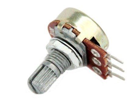 Potencjometr liniowy 100K - L=15mm - 1 szt