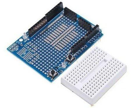 Proto Shield + płytka stykowa 170 do Arduino UNO