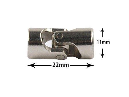 Przegub kardana 23x9mm - na oś 3/4mm - do budowy robotów, projektów DIY