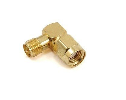 Przejście kątowe - RP-SMA jack do RP-SMA plug - adapter 1 szt