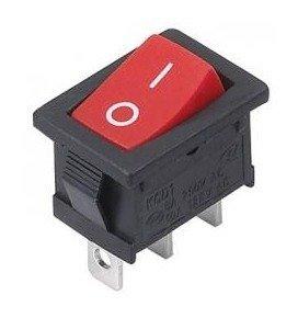 Przełącznik kołyskowy MRS102 A-C3R - 15x21mm - 3PIN - ON/OFF - bistabilny