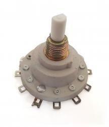 Przełącznik obrotowy 1 obwód - 11 pozycji - wysokość 35mm