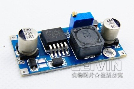 Przetwornica 3A, 3-35V na 1,5-30V - DC-DC - step-down - LM2596 - do FPV