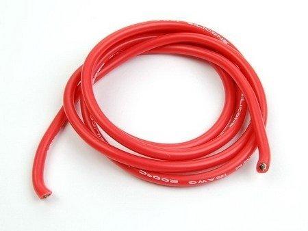 Przewód silikonowy miedziany ocynowany 14AWG - 400 żył - 2,0mm2 - czarny - elastyczny