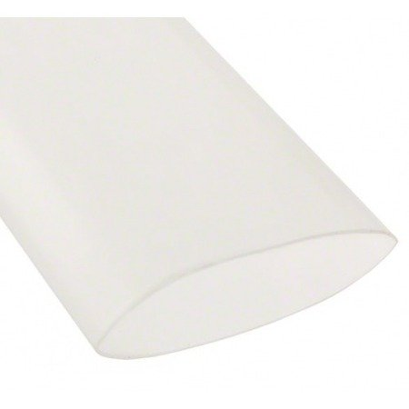 Rurka koszulka termokurczliwa PE Ø50/25 mm - bezbarwna 1mb - elastyczna