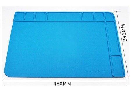 Silikonowa mata serwisowa TE-508 480x340mm