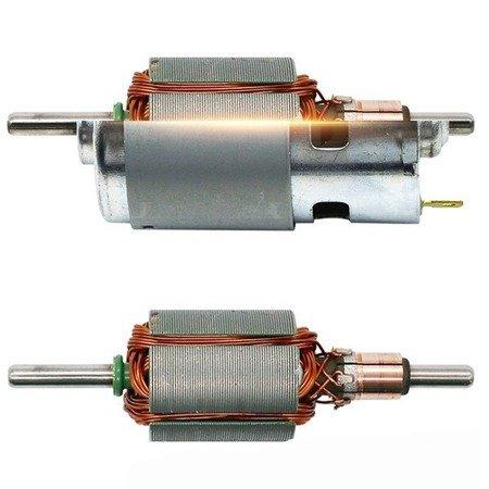 Silnik szczotkowy DC 12-24V - klasy 775 - oś 5mm - 20000RPM - podwójne łożysko - duży moment obrotowy