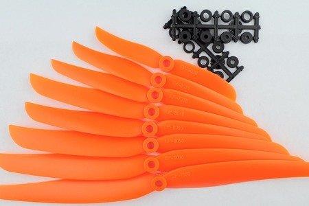 Śmigło ABC-Power 8x4 - orange - śmigło 8040 z wkładką redukcyjną