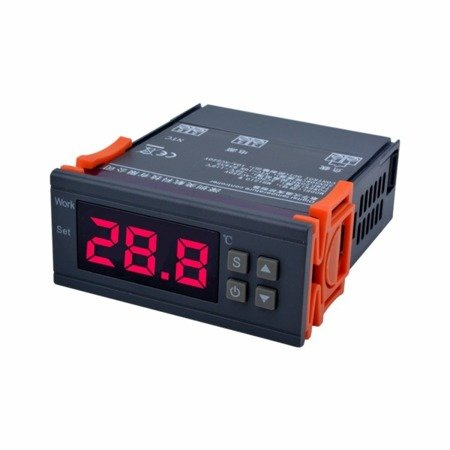 Sterownik, regulator temperatury MH1210W - 90-250V - od – 50 do 110°C  - termostat