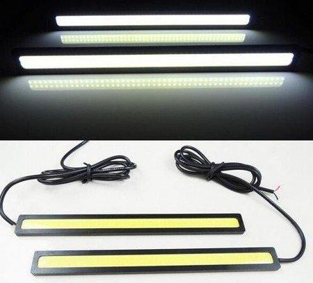 Światła LED do jazdy dziennej - LED COB 2x2W- super jasne światło do drona