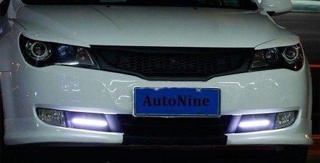 Światła LED niebieskie - LED COB 2x2W- super jasne światło do drona