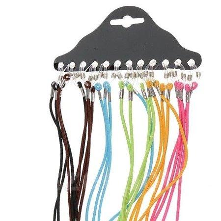 Sznurek do okularów - Smycz - gumka - różne kolory