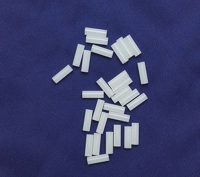 Tuleja Dystans 12mm - 10 szt - otwór 3,2mm bez gwintu - Słupek, Kolumna Poliamidowa