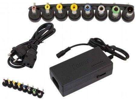 Uniwersalny zasilacz 100W - regulowany od 12V do 24V - 8 końcówek - do laptopa, PSP, oświetlenia LED