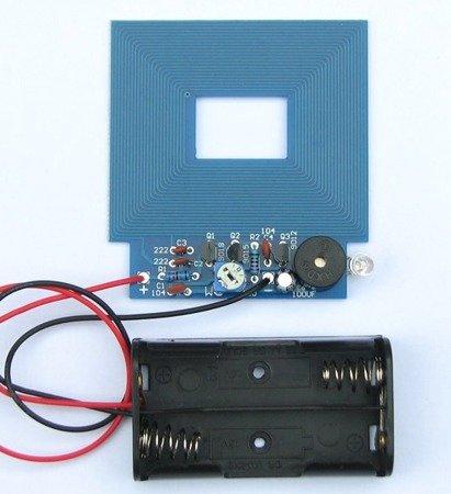 Wykrywacz Metali 3-5V DIY KIT - zestaw do budowy detektora metali