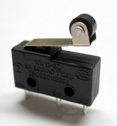 Wyłącznik krańcowy 5V - 250VAC - dźwignia z rolką