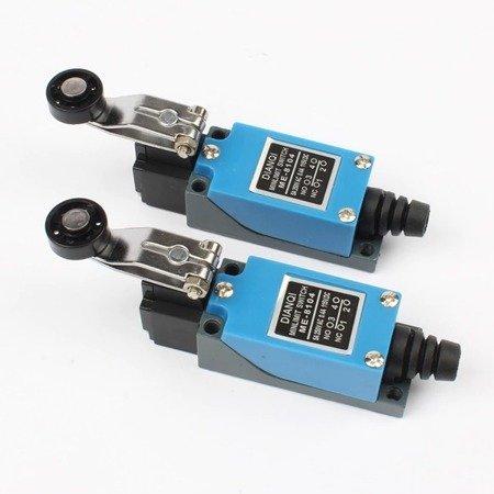 Wyłącznik krańcowy ME-8104 - 230V AC - 5A - dźwignia z rolką