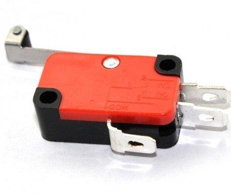 Wyłącznik krańcowy WK827 - dźwignia 28mm z rolką