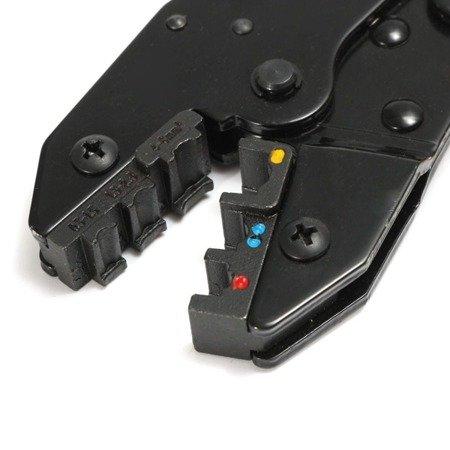 Zaciskarki konektorów WXK-30JN z 5 wymiennymi wkładkami - multi-praska do wtyków
