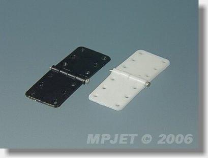 Zawias płytkowy 16mm/32mm - ze sztyftem - MP-JET 2503/2502
