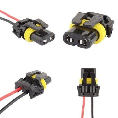 Złącze żarówki 9005 9006 HB3 HB4 - kostka - gniazdo z przewodami